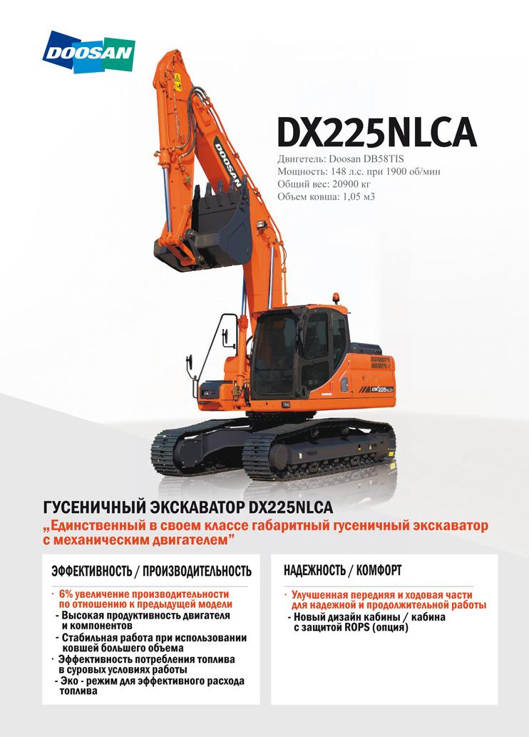 DOOSAN DX260LCA